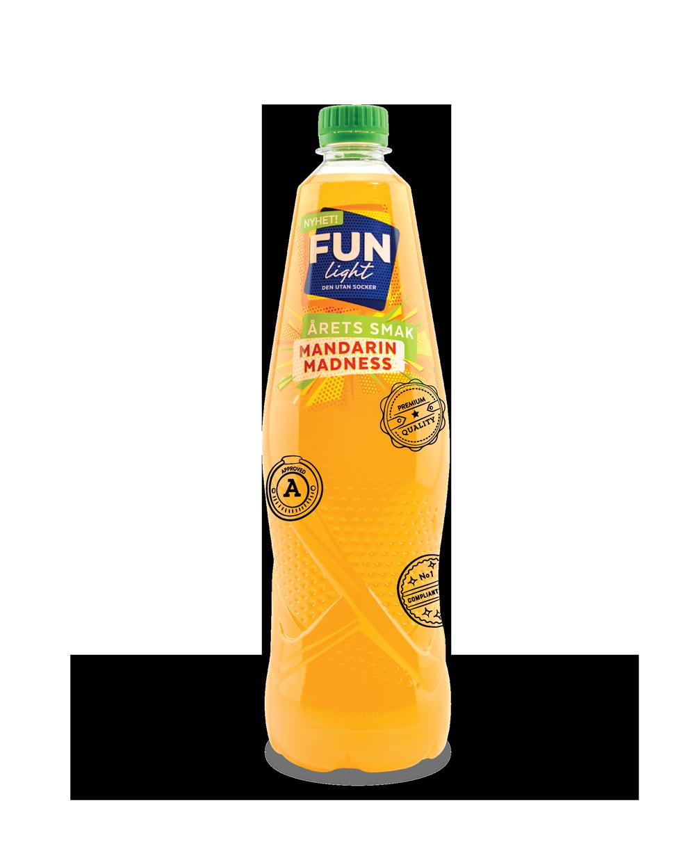 Illustration bottle of lemonade
